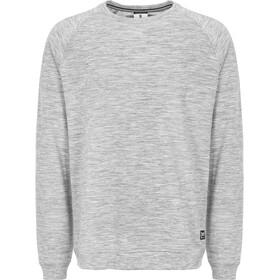 super.natural M's Essential Raglan Crew Sweater Ash Melange